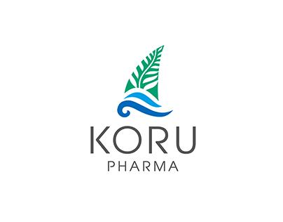 Логотип для ТМ KORU PHARMA