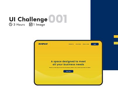 UI Challenge 001