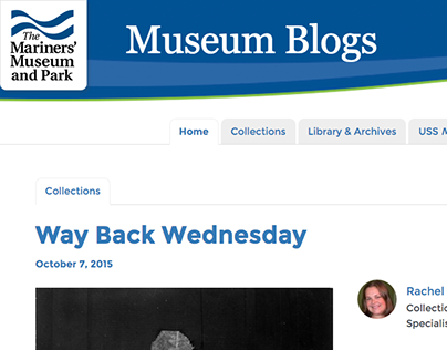 The Mariners' Museum Blogs (WordPress)