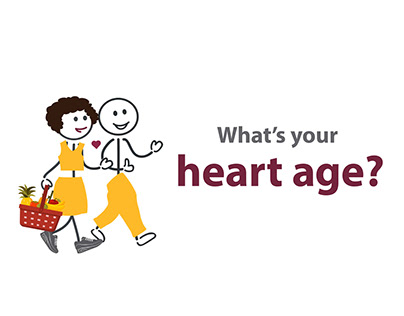 Heart age animation