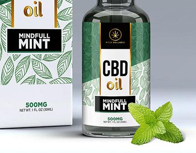 CBD   Box & Label design