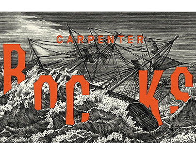Carpenter Rocks Label Illustrated by Steven Noble