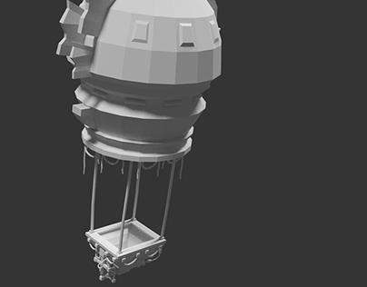 Vehicle Air balloon 3D