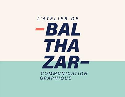 Nouvelle identité de marque | L'atelier de Balthazar