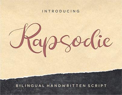 Rapsodie - Free Multilingual Script