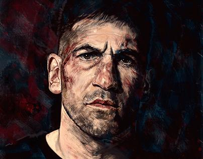 The Punisher Portrait