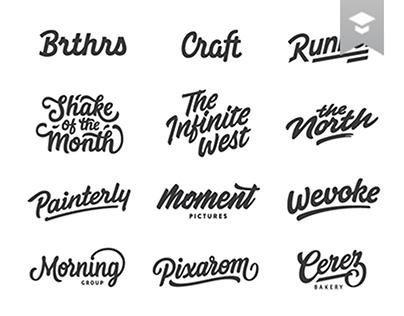Lettering & Logotype Vol.3
