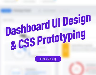 Responsive Admin Dashboard UI/UX Design & Development