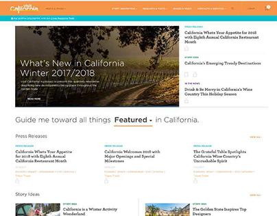 Visit California Media Center