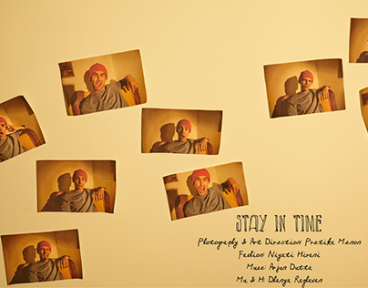 STAY IN TIME    PHOTO VOGUE