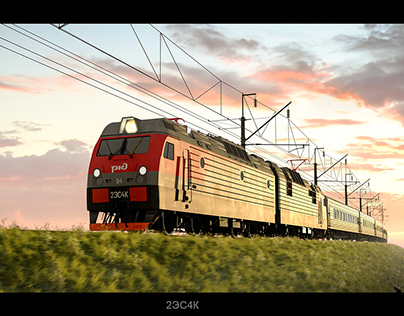 Russian electric locomotives of series ES
