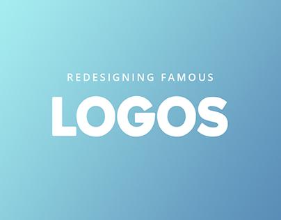 Redesigning Famous Logos