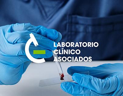 Laboratorio Clínico Asociados | logo design