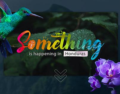 Something is happening in Honduras