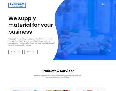 Bascham Life Sciences Website