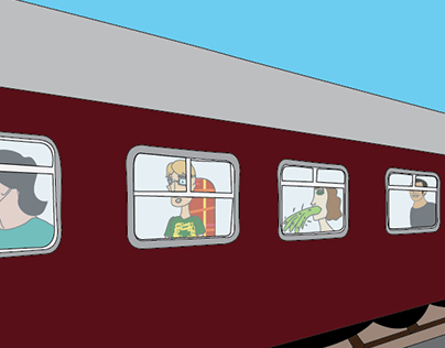 Comic Strip - My Train of Thought