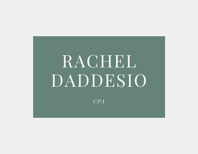 CPA RACHEL KATHERINE DADDESIO DISCUSSES SEVERAL WAYS TO