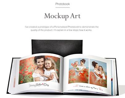 Mockup Art Personalised Photo Product