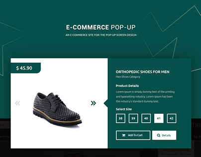 Shoplist Modal Design Free .PSD!