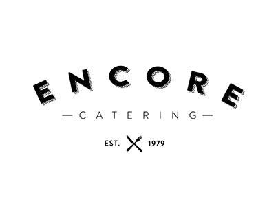 Encore Catering Logo Design
