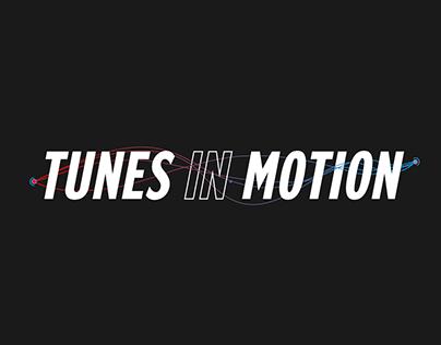 REXONA // TUNES IN MOTION CASE & VISUAL DESIGN