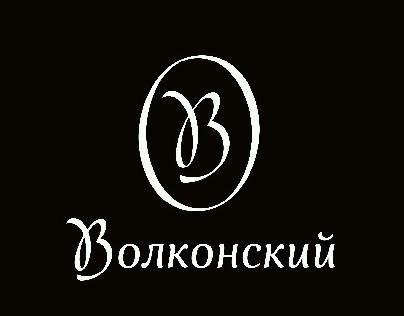 Volkonsky logo & typeface