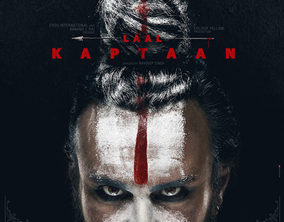 LAAL KAPTAAN first look poster