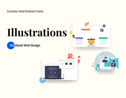 Illustrations BlueBash 2.0
