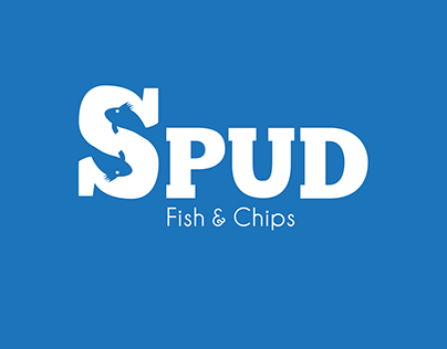 Spud Fish & Chips Identity