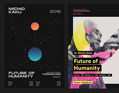 The Future Of Humanity – Branding & Poster Design