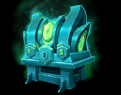 Concept Art for chest