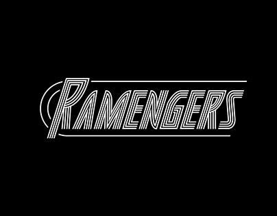 Ramengers - restaurant branding