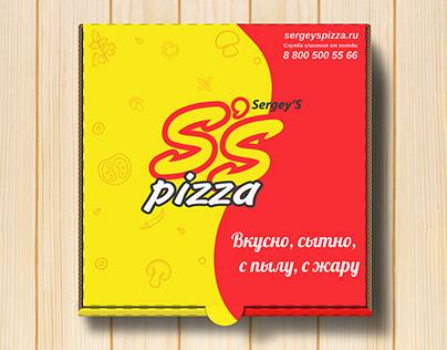 Sergey`s pizza - концепт фирменного стиля