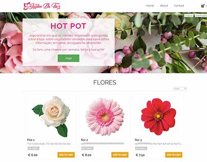 Website + Store - Flores