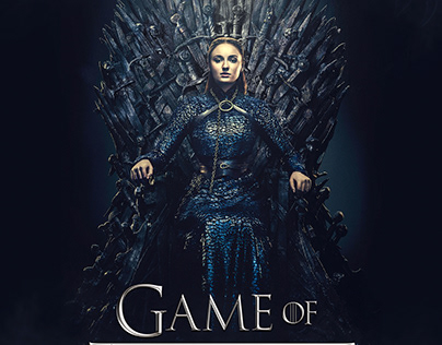 Lady Sansa Stark poster design