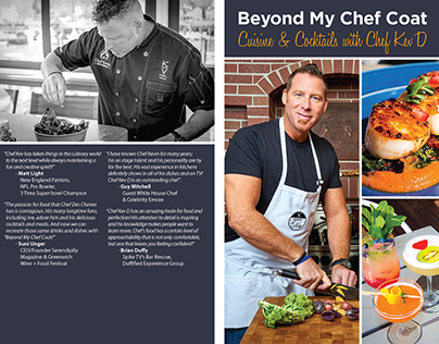 Beyond My Chef Coat Book Layout