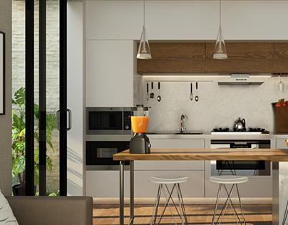 Minimalist Modern Kitchen Design   Maxima Architect