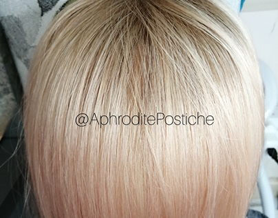 Blonde Lace Topper