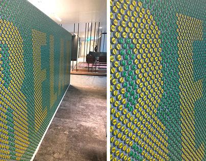 Office design new HQ Coca-Cola Rotterdam