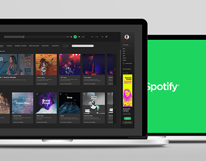 Spotify Interface Cleanup | Mini Project