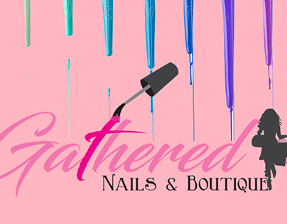 Gathered Nails Flyer for Opelika Location