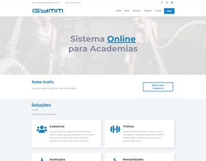 Gymm - Sistema Online de Academias