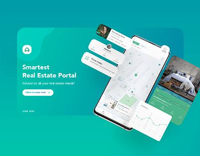 Arzepak - real estate portal app