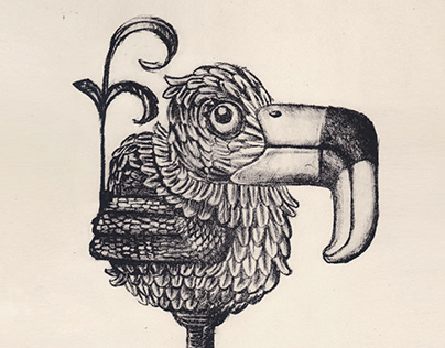 The Dodo - Lithograph