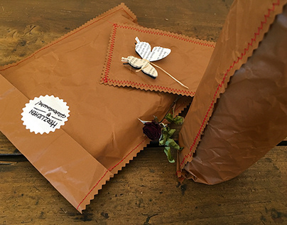 Sustainable packaging: Gift wrapping