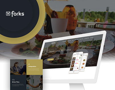 Website Redesign for 'Fork'