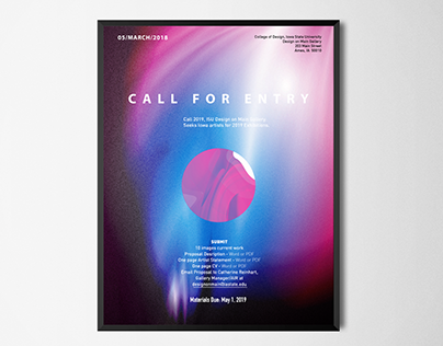 Call for designer poster