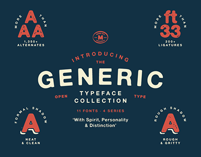 Generic Typeface Collection