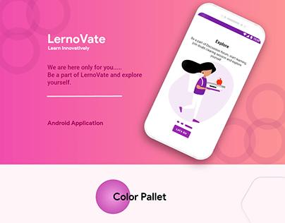 Android Presentation: LernoVate (Tutor Finder)