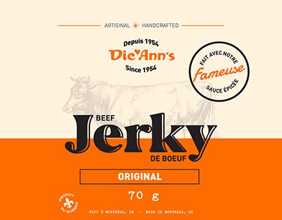 Dic Ann's | Beef Jerky